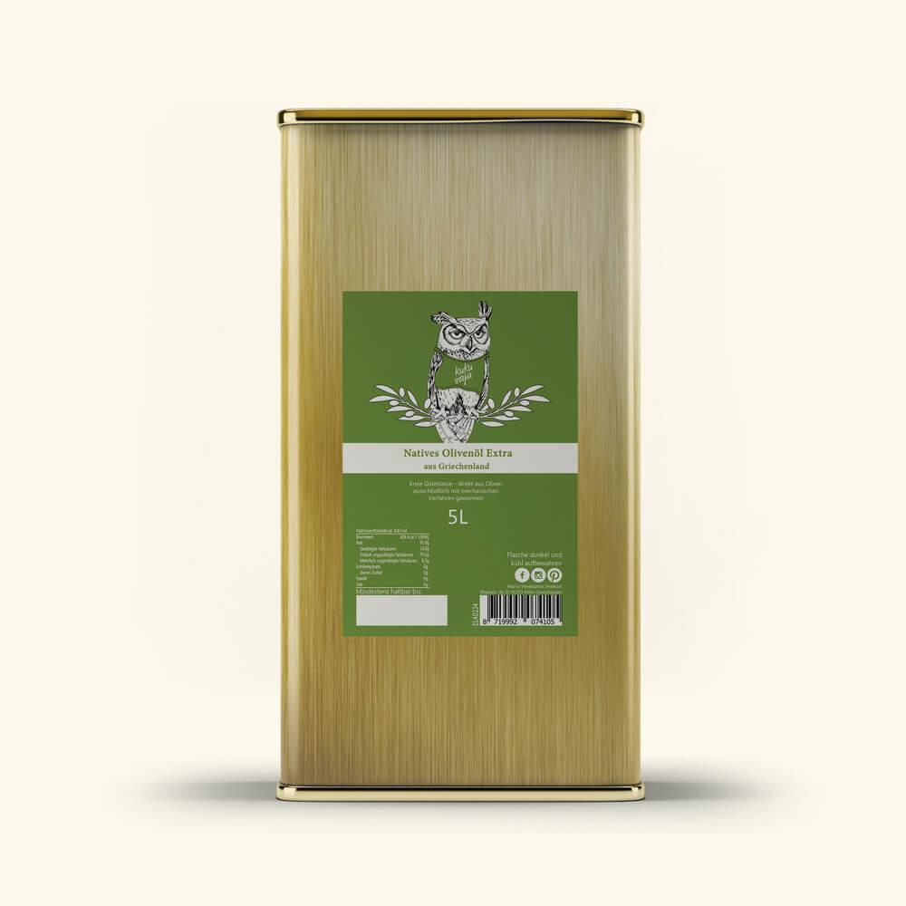 Kukuvaja Olivenöl Natives-Olivenoel-Extra-Kanister