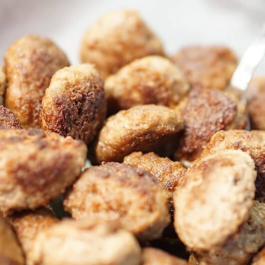 Griechische Hackbällchen mit Minze Rezept